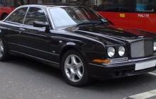 Bentley Continental в чёрном цвете