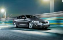 BMW 4 series в движении