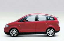 Audi A2 в красном цвете официально