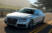 Audi A7 в движении (заставка)