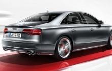 Audi S8 - вид сзади