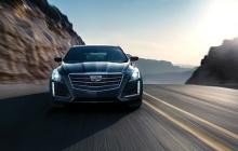 Cadillac CTS в движении