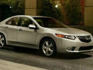 Acura TSX: официальное фото, общий вид автомобиля