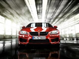 BMW M6 - официальное фото, вид спереди