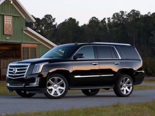 Cadillac Escalade - официальное фото