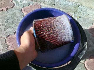 мытье воздушного фильтра