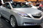 Acura ZDX: общий вид автомобиля