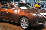 Acura ZDX в коричневом цвете