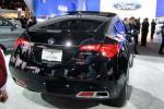 Acura ZDX в чёрном цвете: вид сзади
