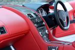 Aston Martin DB9 - салон в красной коже