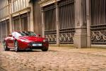 Aston Martin V8 Vantage в красном цвете