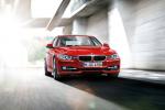 BMW 3 series в красном цвете