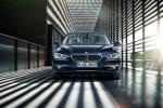 BMW 3 series - вид спереди в синем цвете