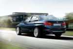 BMW 3 series в синем цвете