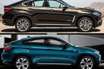 BMW X6 - сравнение двух поколения модели