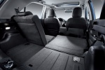 Kia Picanto - складывание сидений