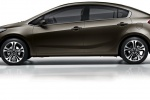 Kia Cerato - коричневый
