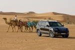 Kia Mohave - в пустыне с верблюдами