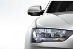 Audi A4 крупным планом - фара