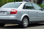 Audi A4 - поколение B6, вид сзади
