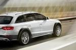 Audi A4 Allroad Quattro в движении - официальное фото