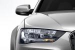 Audi A4 Allroad Quattro крупным планом - фара