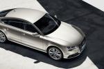 Audi A7 - вид сверху