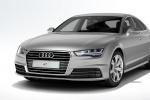 Audi A7 на белом фоне
