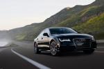 Audi A7 - чёрный в движении