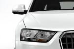 Audi Q3 - вид спереди крупным планом