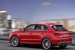 Audi Q3 - розовый в движении
