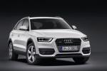 Audi Q3 - белый, вид спереди