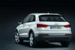 Audi Q3 - белый, вид сзади