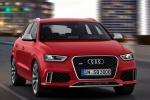 Audi Q3 - розовый, вид спереди