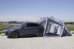 Audi Q3 с кемпингом