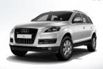 Audi Q7 на белом фоне