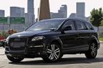 Audi Q7 в чёрном цвете