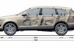 Audi Q7 - размеры