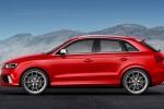 Audi RS Q3 - красный, вид сбоку
