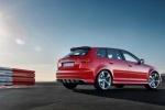 Audi RS3 - красный, вид сзади