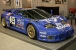 Bugatti EB 110 в гоночной окраске