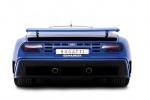 Bugatti EB 110 - вид строго сзади