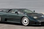 Bugatti EB 110 в чёрном цвете