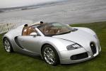 Bugatti Veyron Grand Sport - серебристый на фоне воды