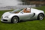 Bugatti Veyron Grand Sport на траве