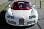 Bugatti Veyron Grand Sport - вид спереди, 2012 года