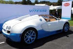 Bugatti Veyron Grand Sport на выставке