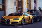 Bugatti Veyron Grand Sport - инкрустированный золотом