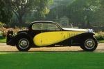 Bugatti Type 50 в двухцветной раскраске
