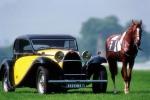 Bugatti Type 50 T с лошадью